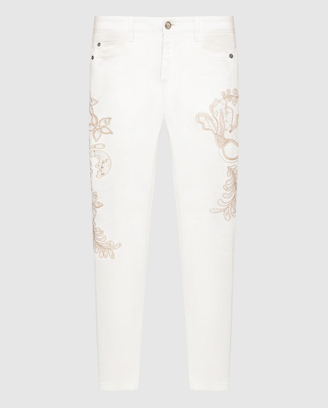 Ermanno Scervino Белые джинсы D287P700UFX