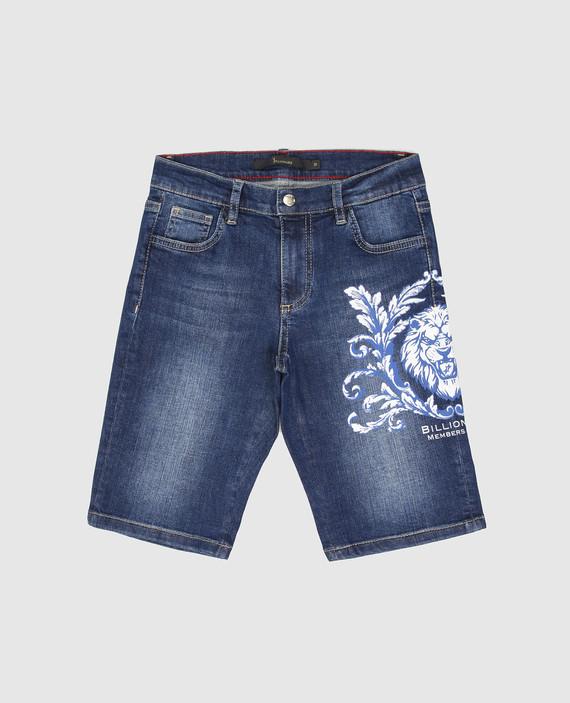 Детские синие джинсовые шорты