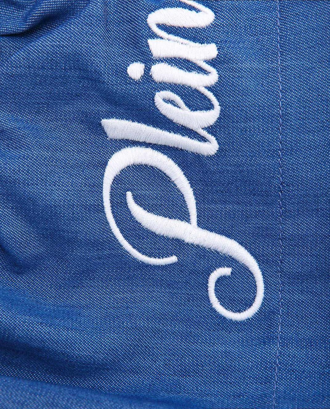 Philipp Plein Детская синяя юбка CRV0004 изображение 3