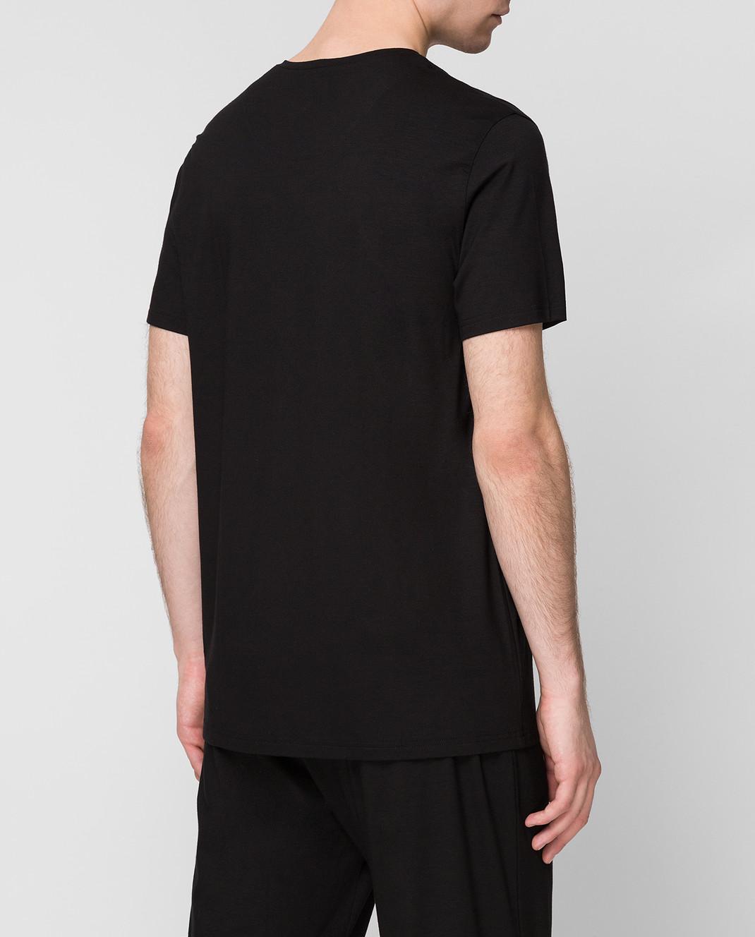 Derek Rose Черная футболка 3083BASE001 изображение 4