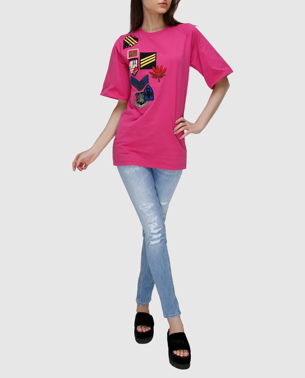 Dondup Голубые джинсы P622DS107DO51 изображение 2
