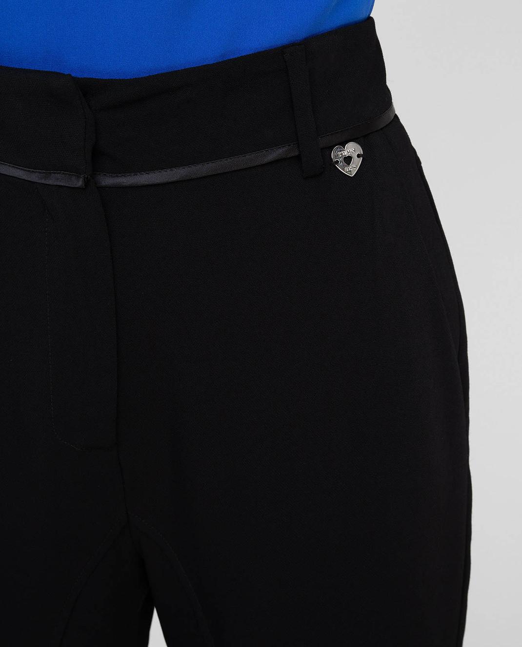 Twin Set Черные брюки PS72W5 изображение 5