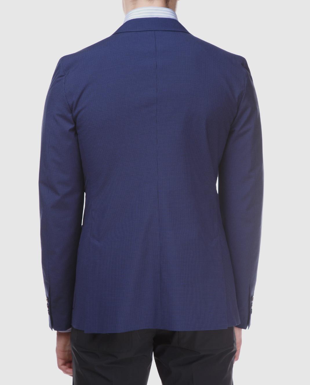 Prada Синий пиджак UGF003 изображение 4