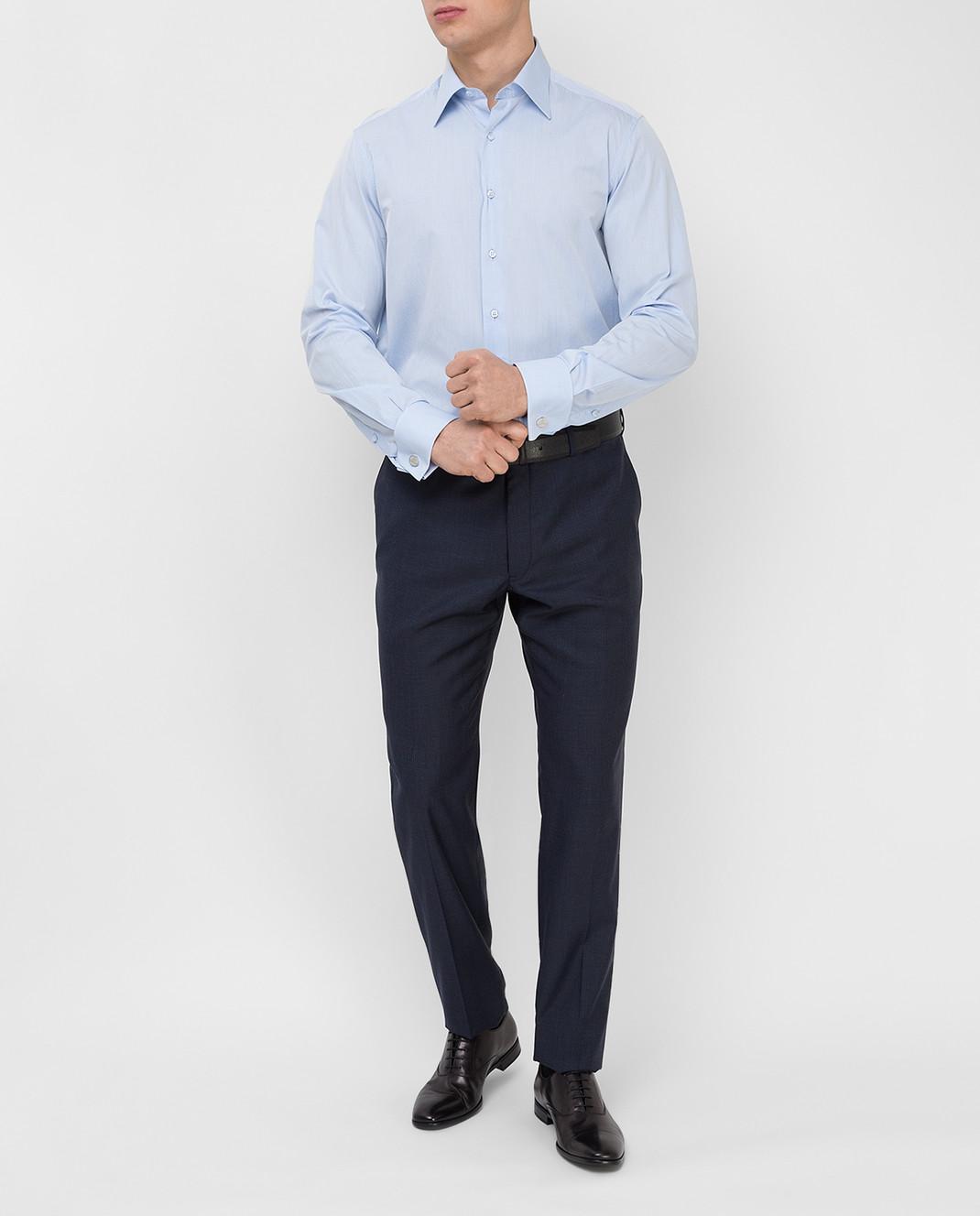 Stefano Ricci Голубая рубашка MC000591L1601 изображение 2