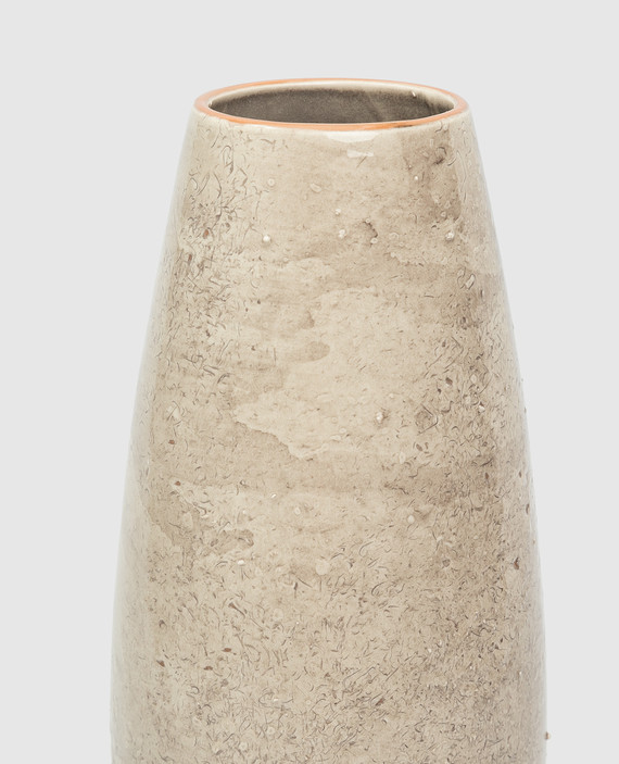 Бежевая ваза из керамики hover