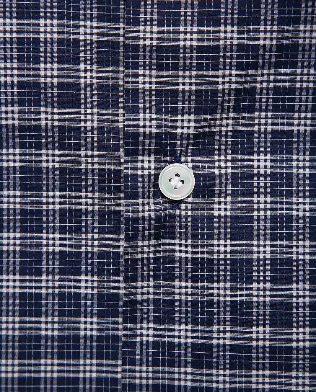 Eleventy Темно-синяя рубашка 979CA0001CAM24015 изображение 5
