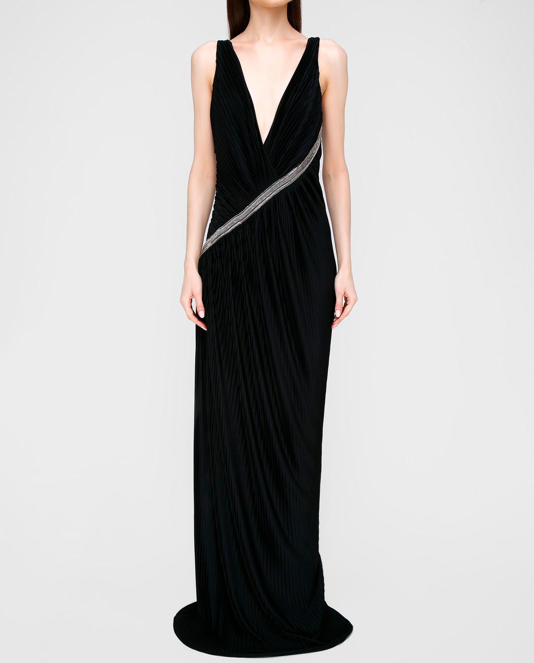 Roberto Cavalli Черное платье изображение 3