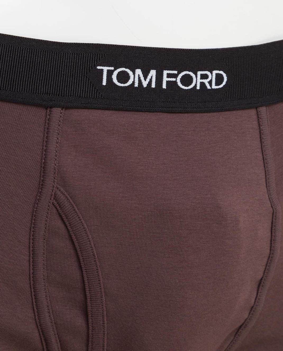 Tom Ford Коричневые трусы изображение 3