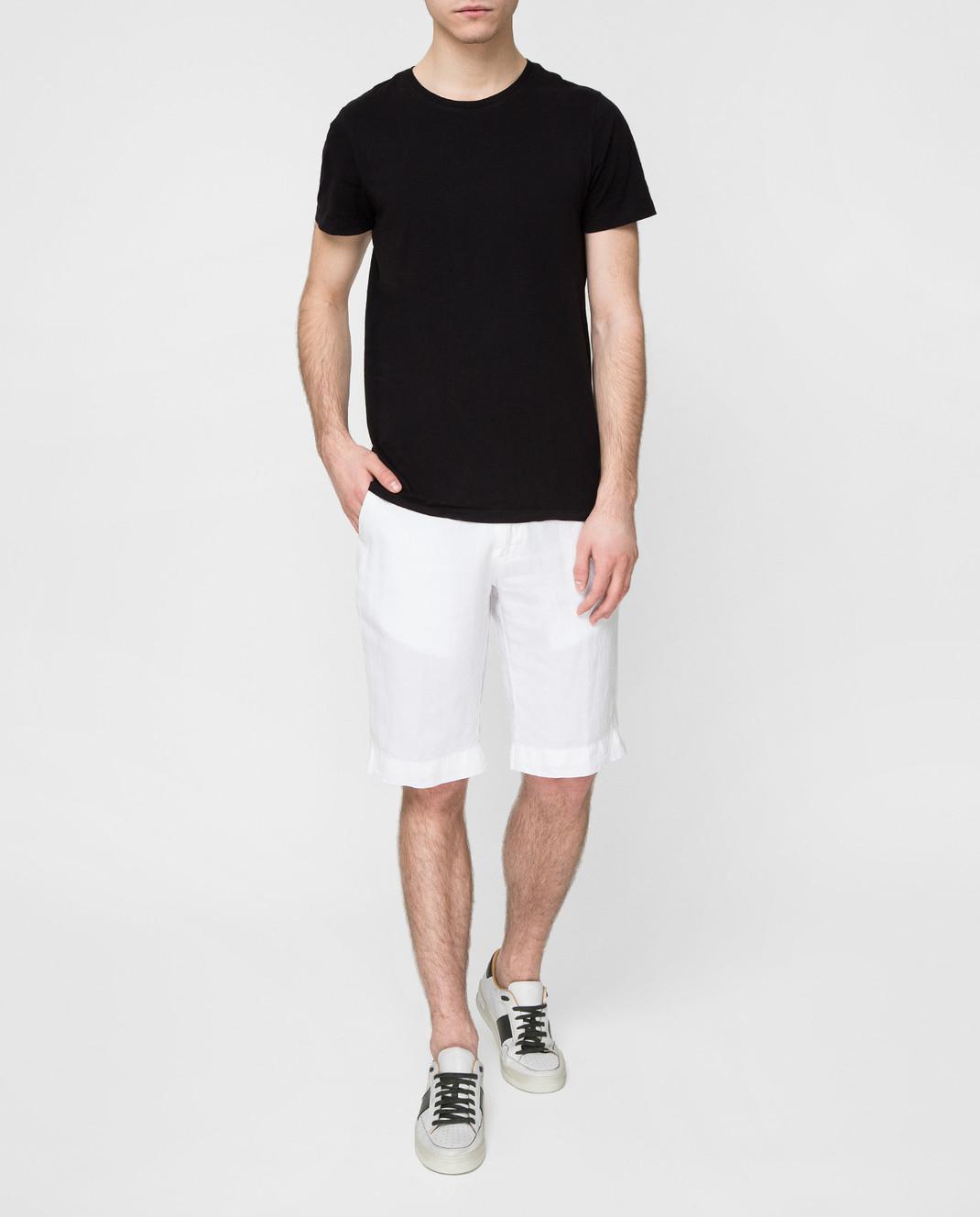 Kiton Белые шорты UPNJSBJ07R66 изображение 2