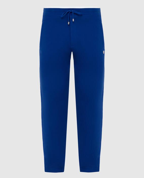 Синие спортивные брюки