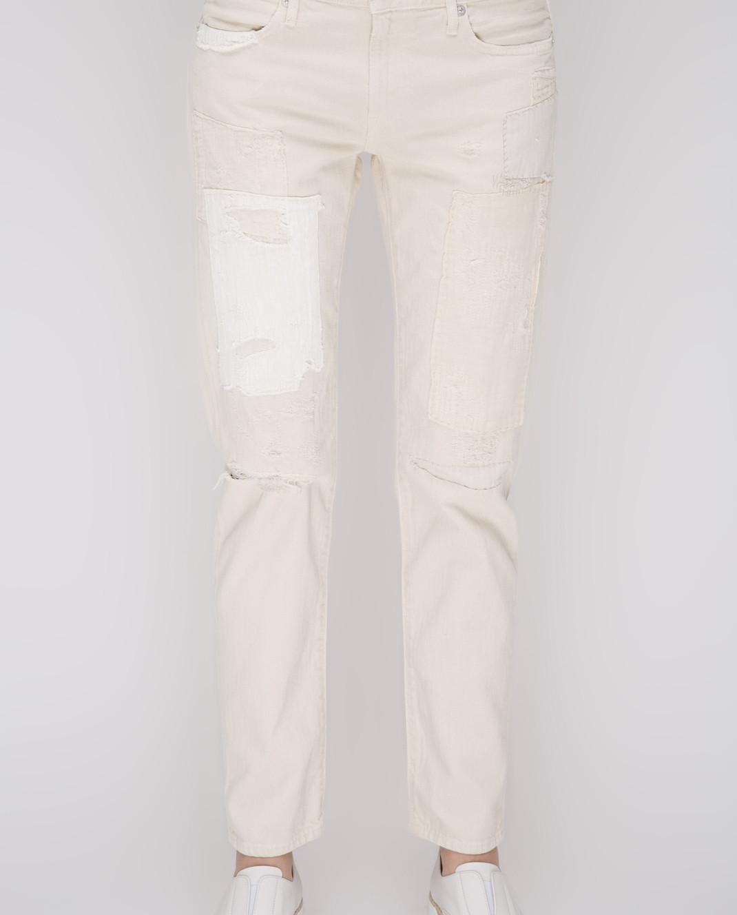 Ralph Lauren Белые джинсы V60XZ2K8 изображение 3