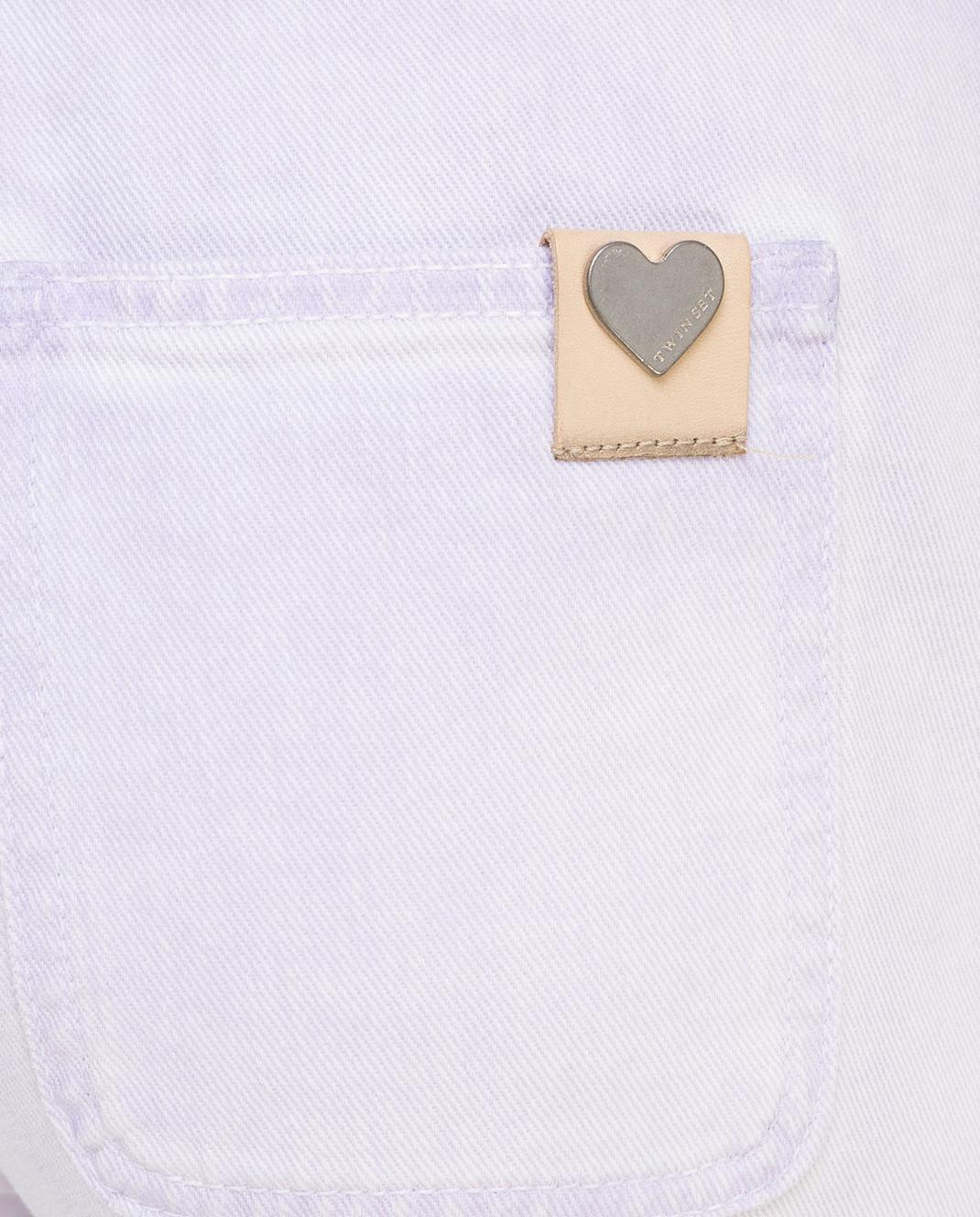 Twin Set Сиреневые джинсы PS72SU изображение 5