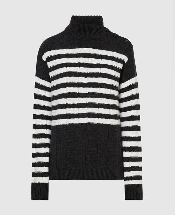 Темно-серый свитер из кашемира