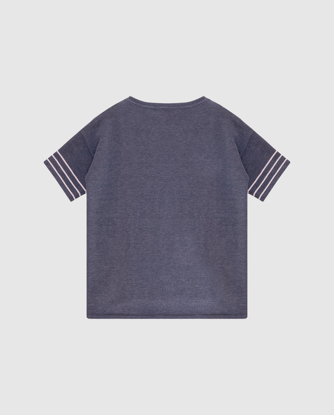 Loro Piana Детская серая футболка F2FAI0602 изображение 2