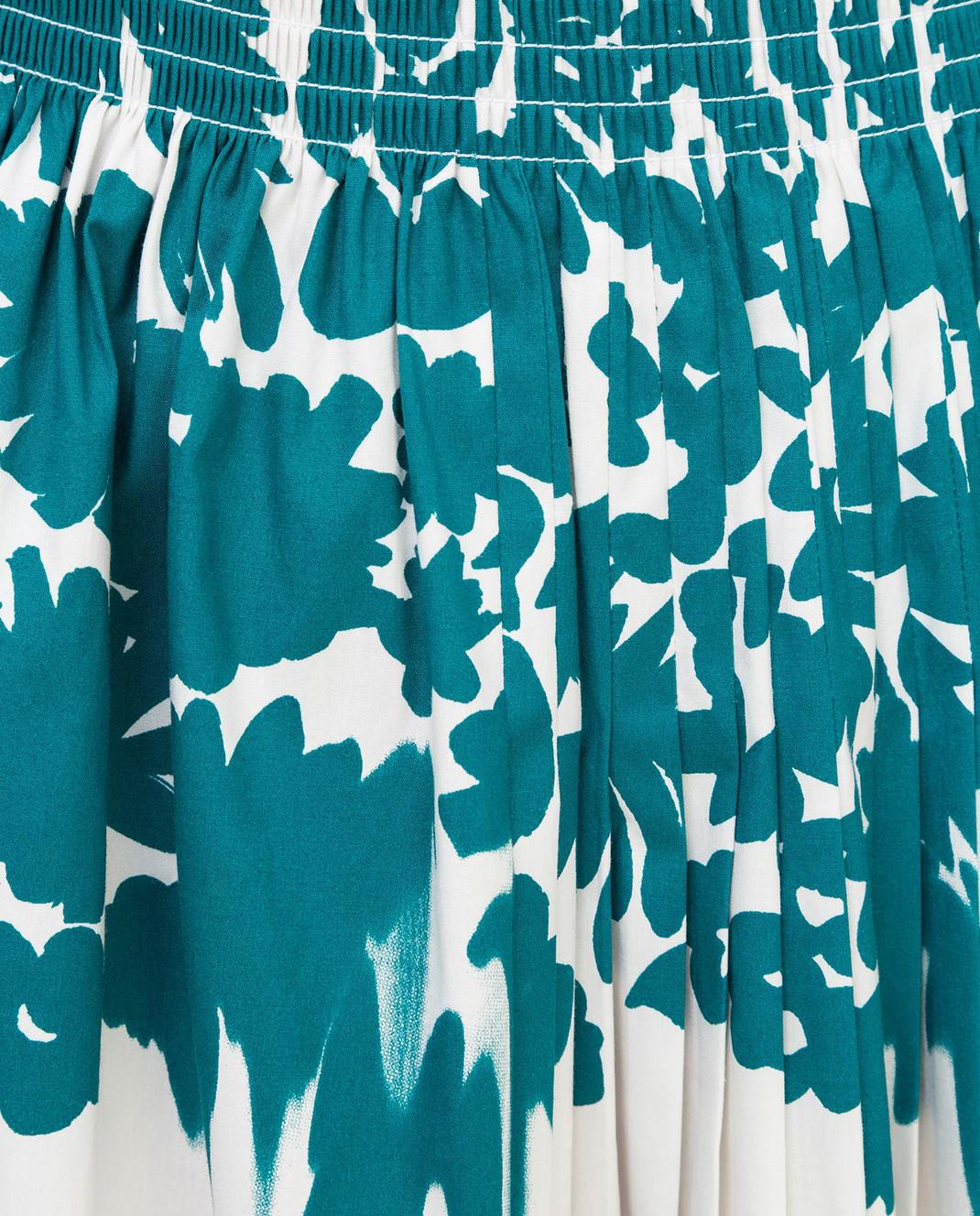 Prada Белая юбка изображение 5
