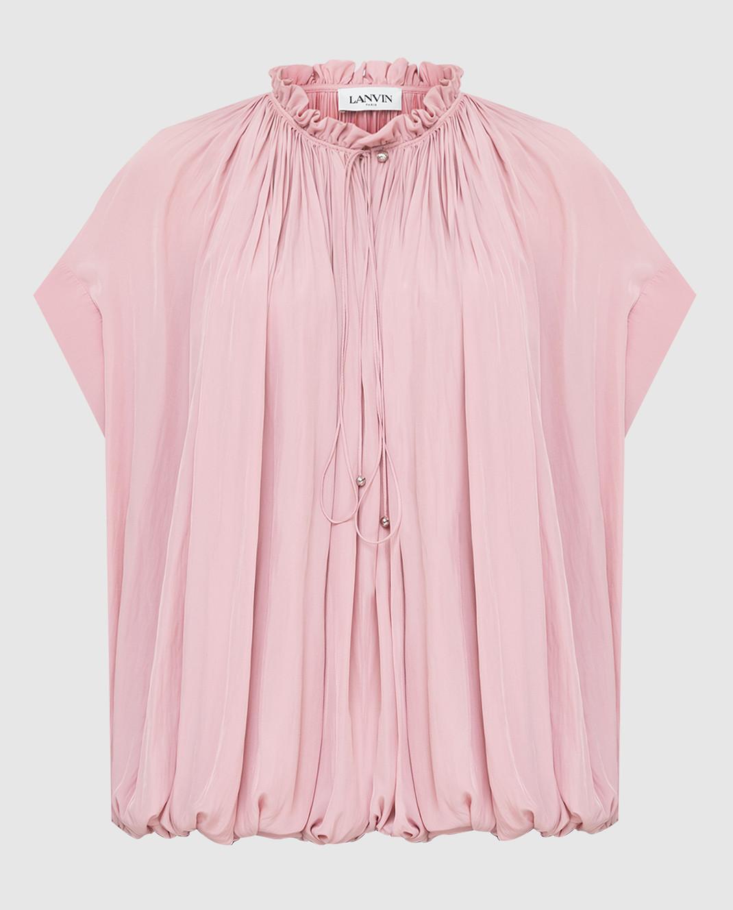 Lanvin Розовая блуза изображение 1
