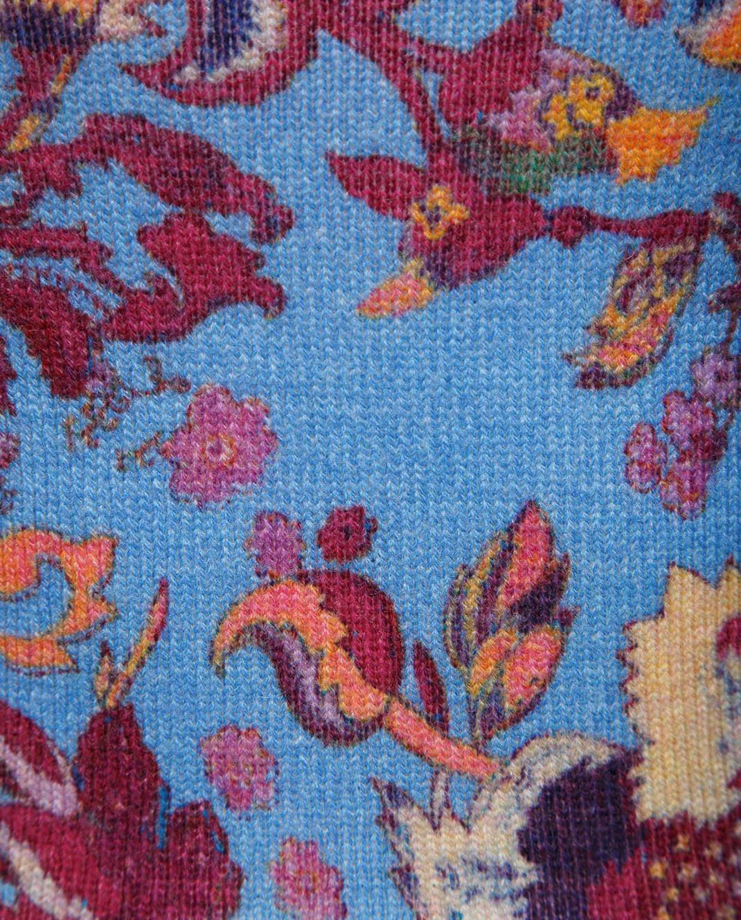 Etro Синее платье из шерсти D15673 изображение 5