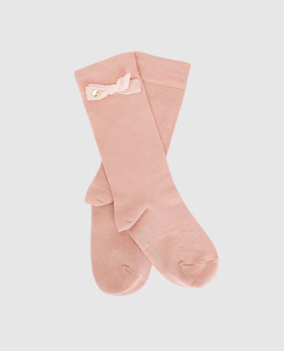 Детские пудровые носки