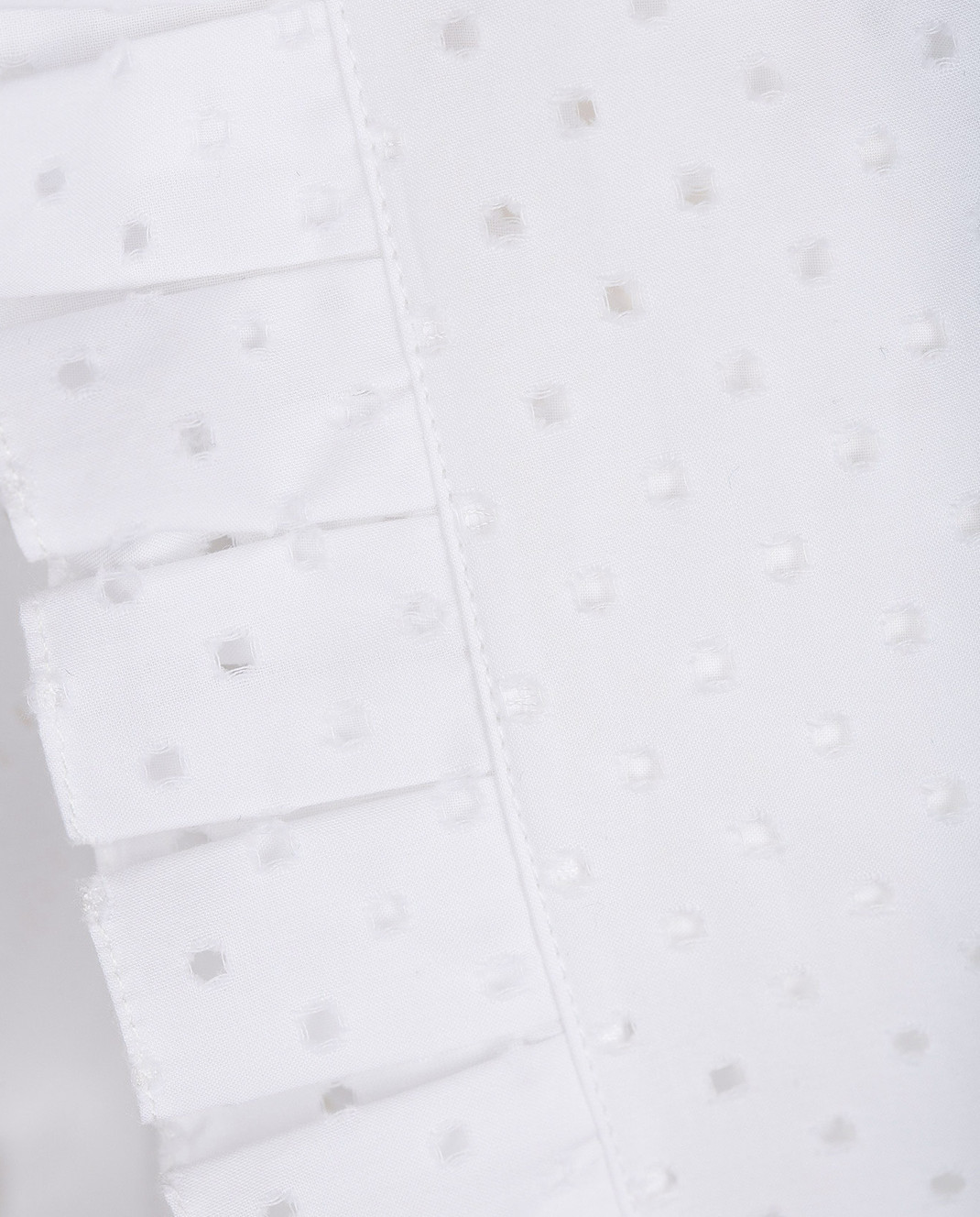 Azzedine Alaia Белое платье 7S9R054RTL48 изображение 5