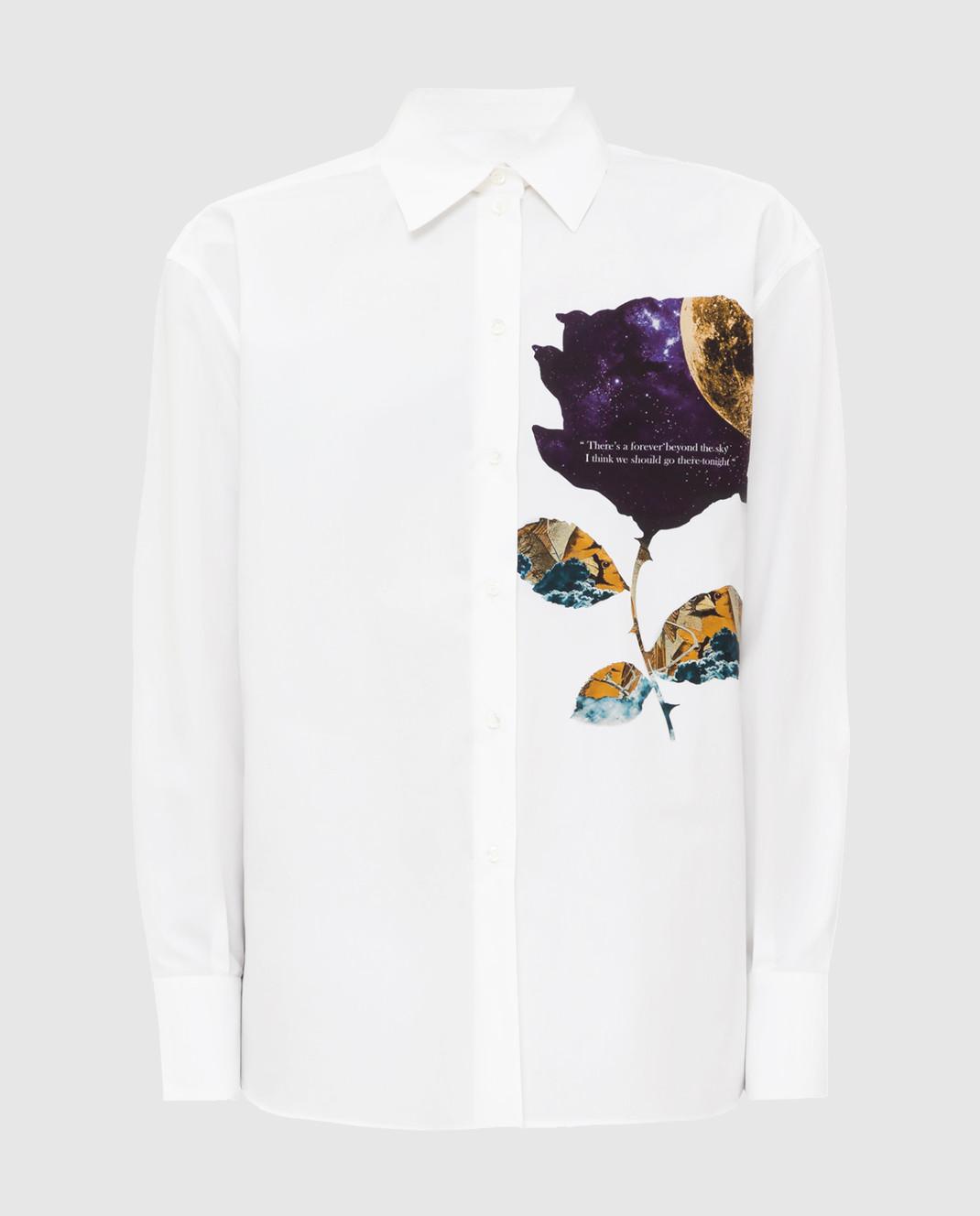 Valentino Белая рубашка SB0AB15H52H