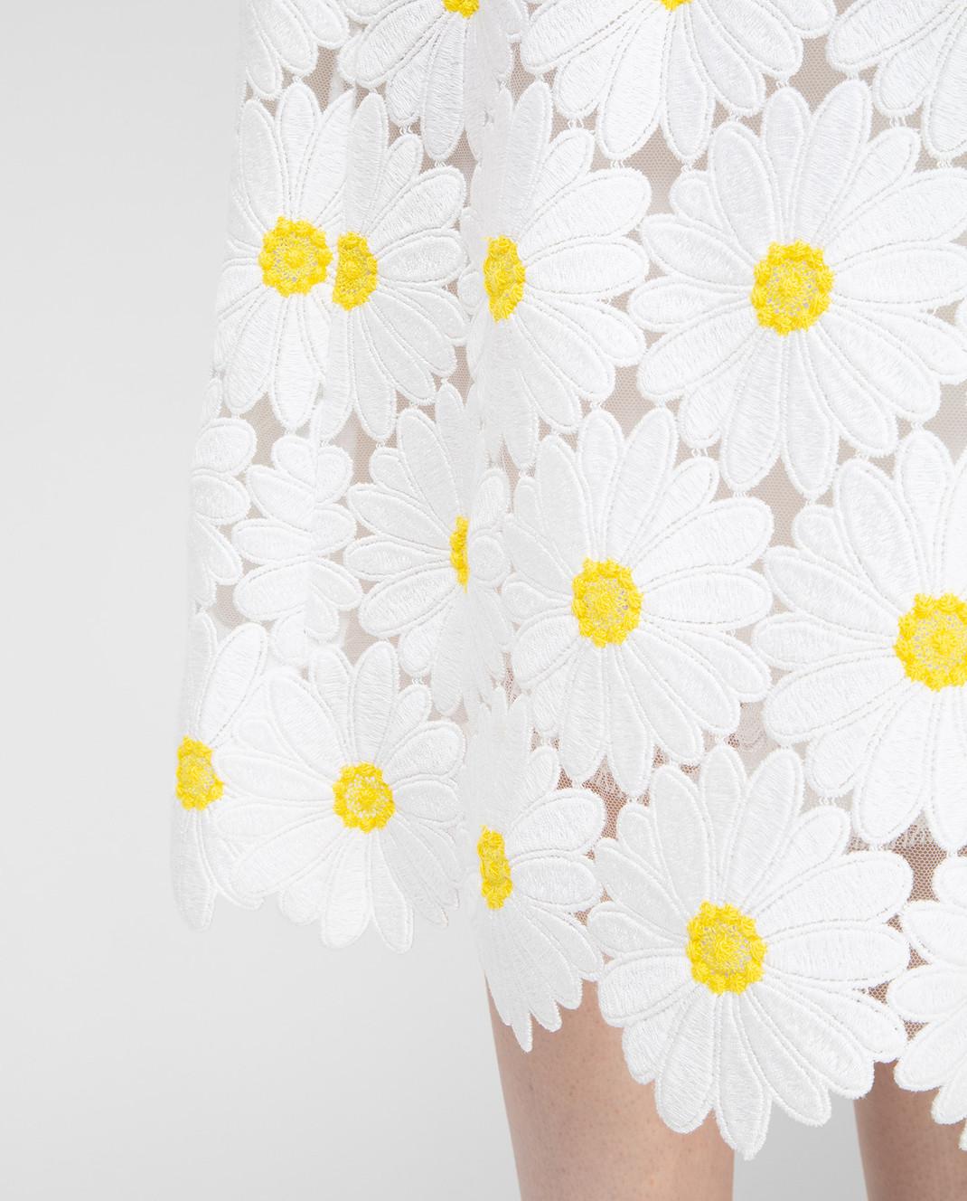 Dolce&Gabbana Белая юбка F4AHETHLMHE изображение 5