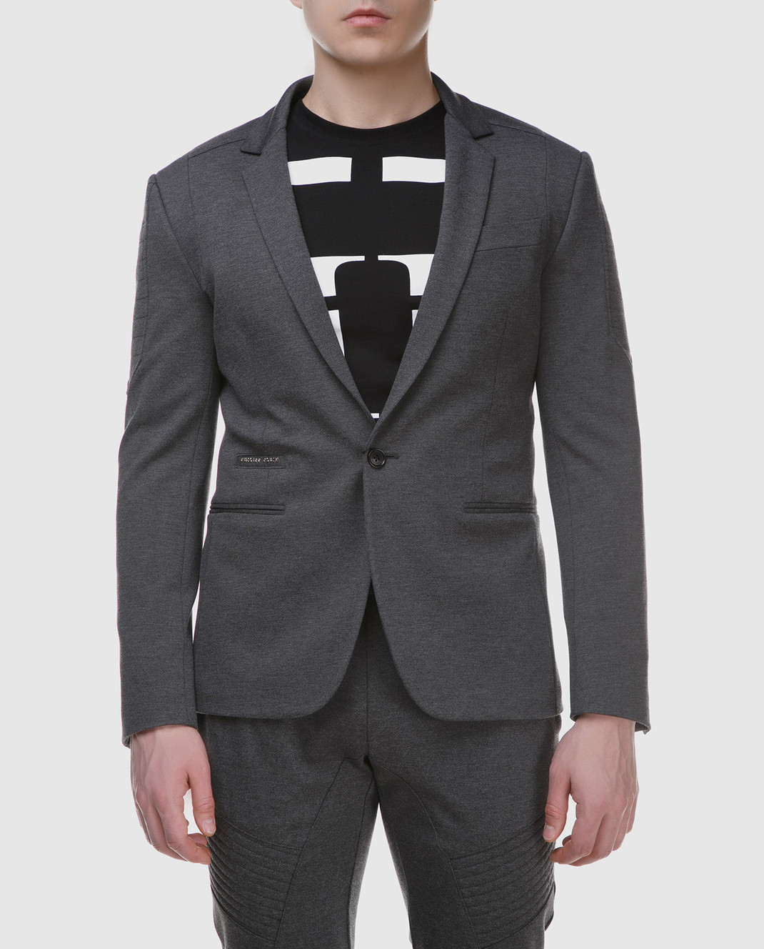 Philipp Plein Серый пиджак MRF0323 изображение 3