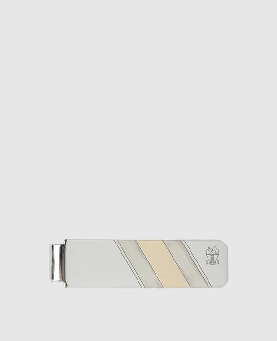 Зажим для галстука из серебра 925 пробы