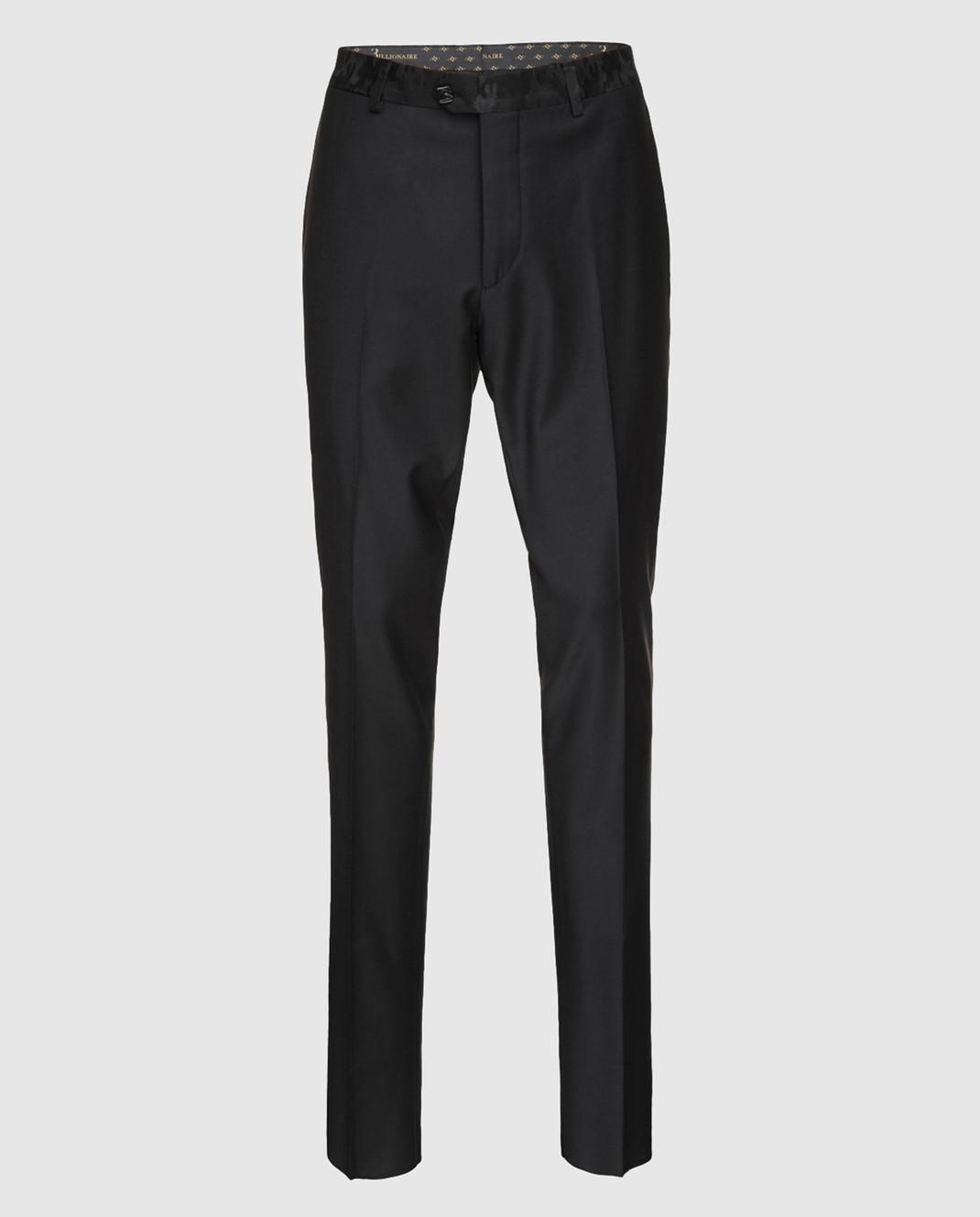 Billionaire Черные брюки изображение 1