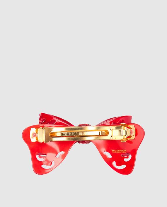 Красная заколка hover