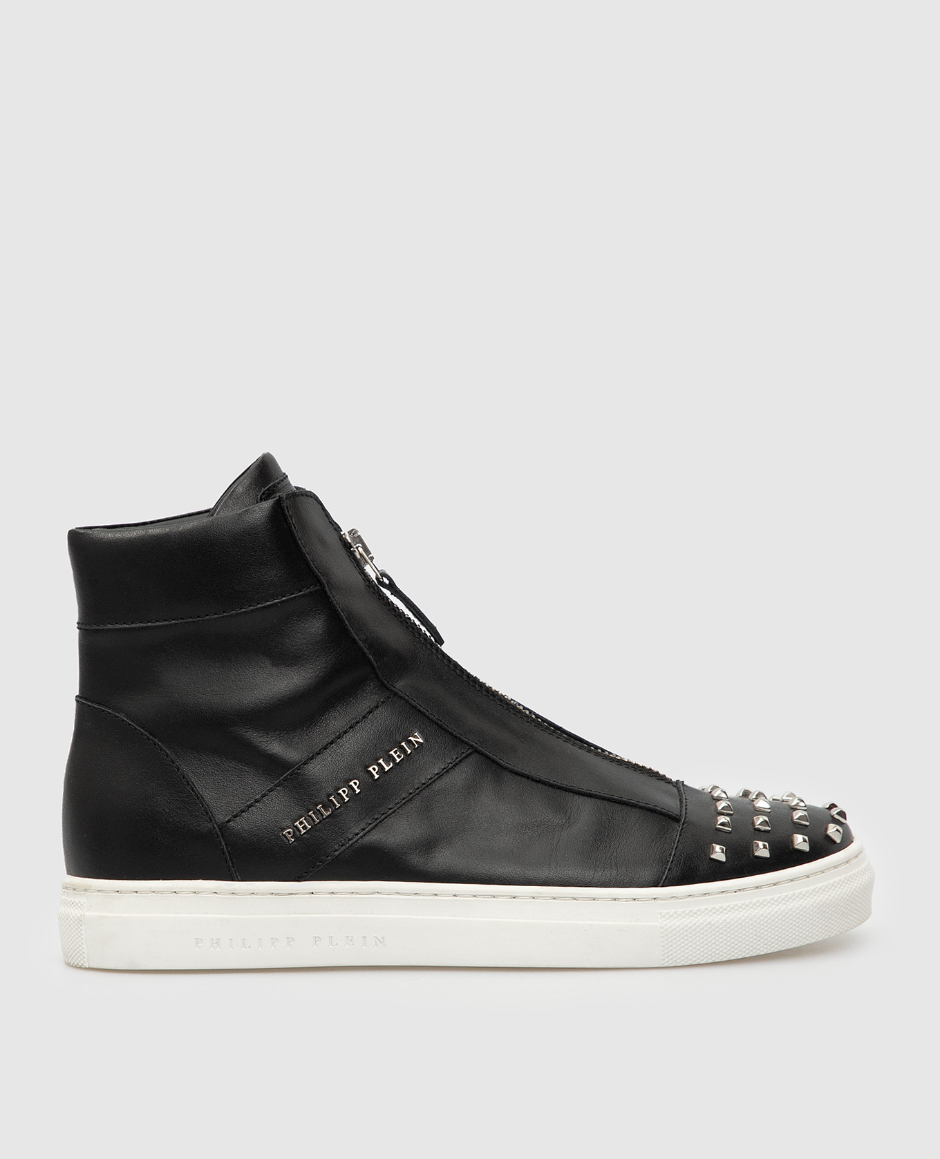 Детские черные кожаные ботинки