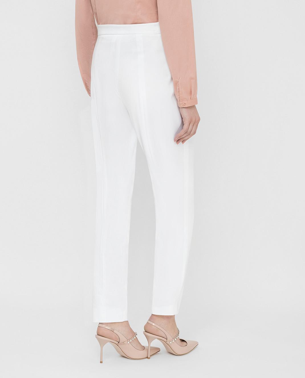 Prada Белые брюки P298C1VS4 изображение 4