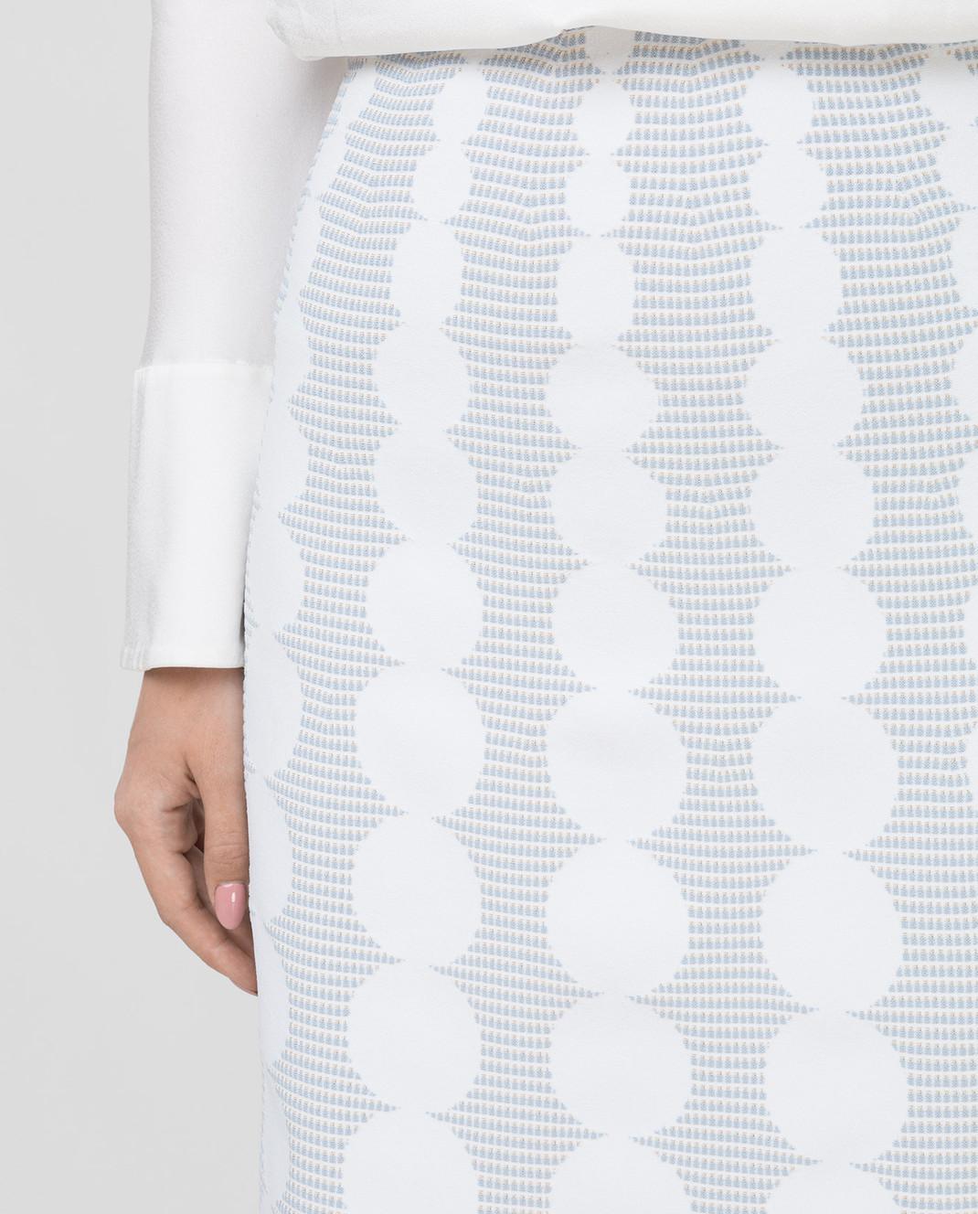 Azzedine Alaia Белая юбка изображение 5