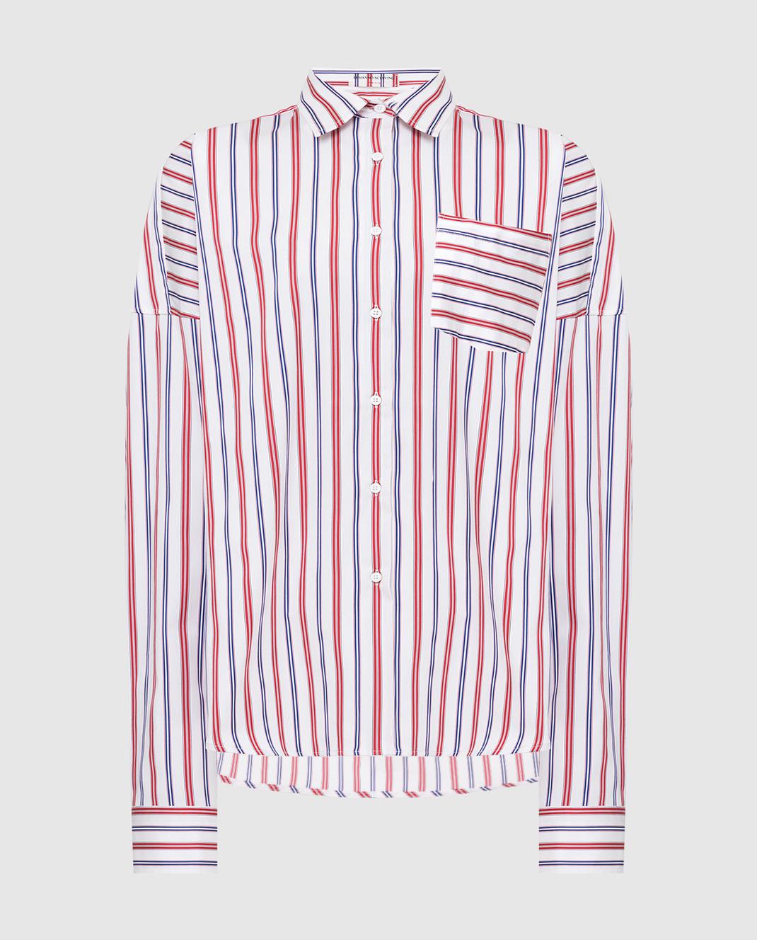 Ermanno Scervino Белая рубашка D362K304AWH