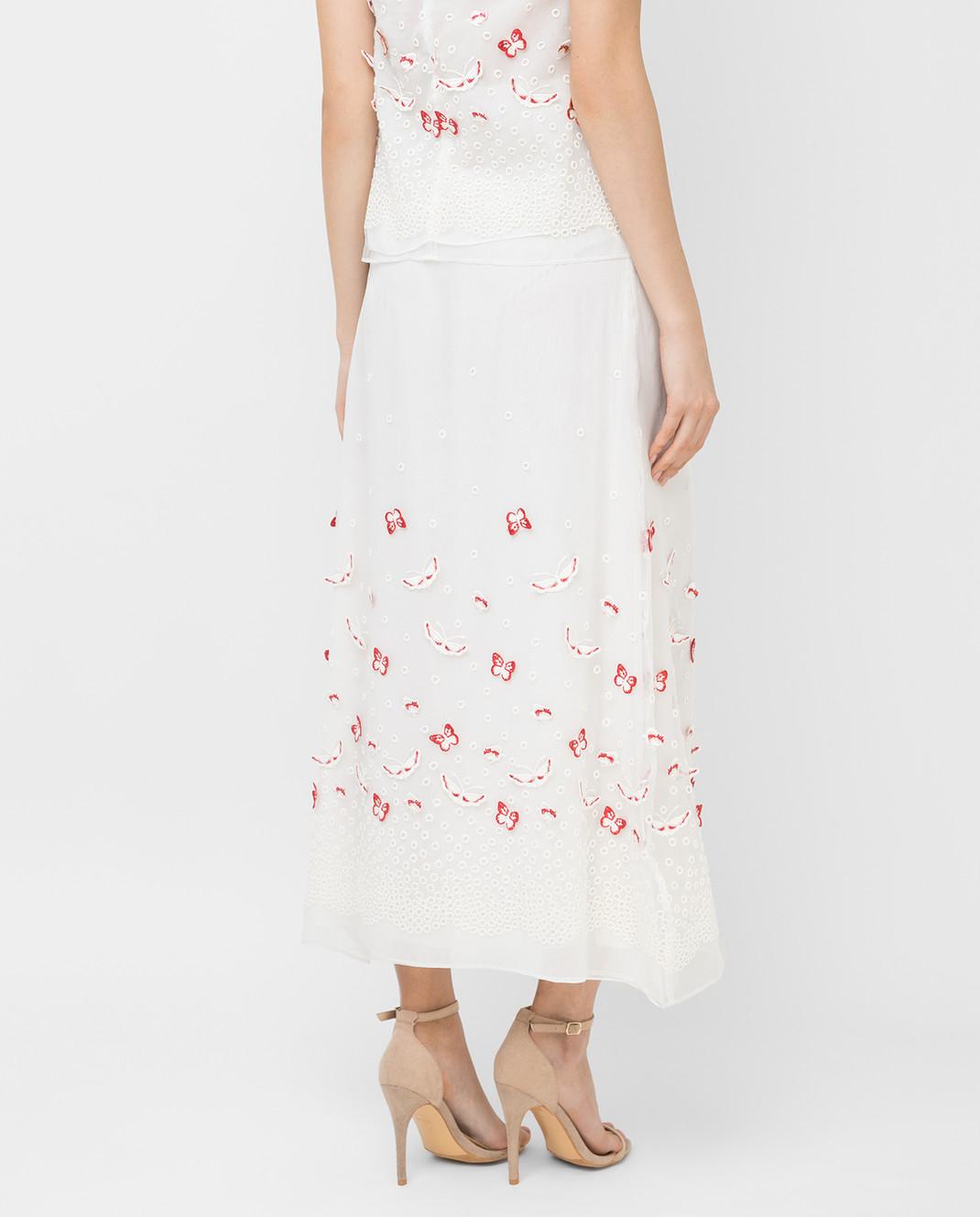 Giamba Белая юбка PG4072 изображение 4