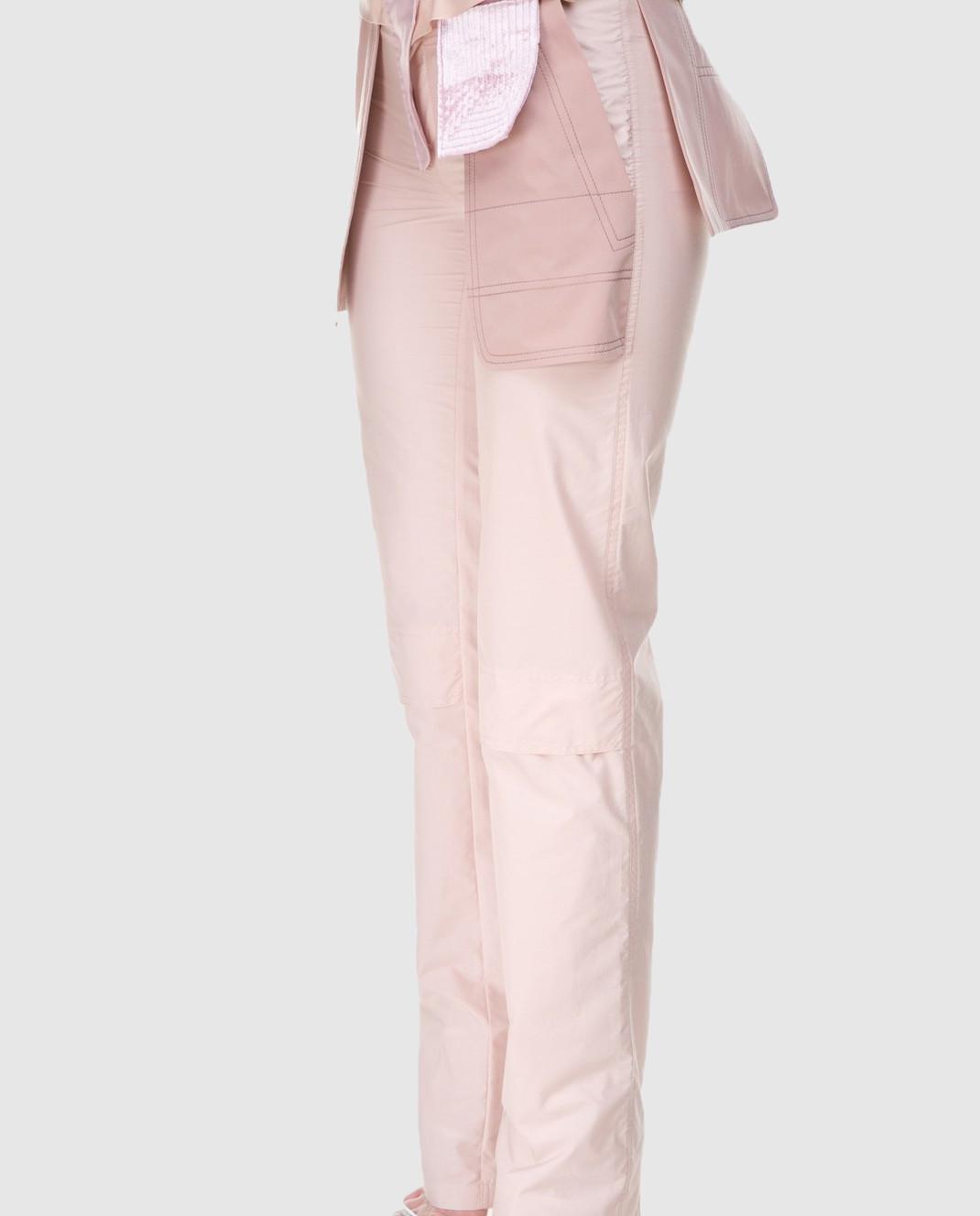 Valentino Бежевые брюки PBARB2853VG изображение 2