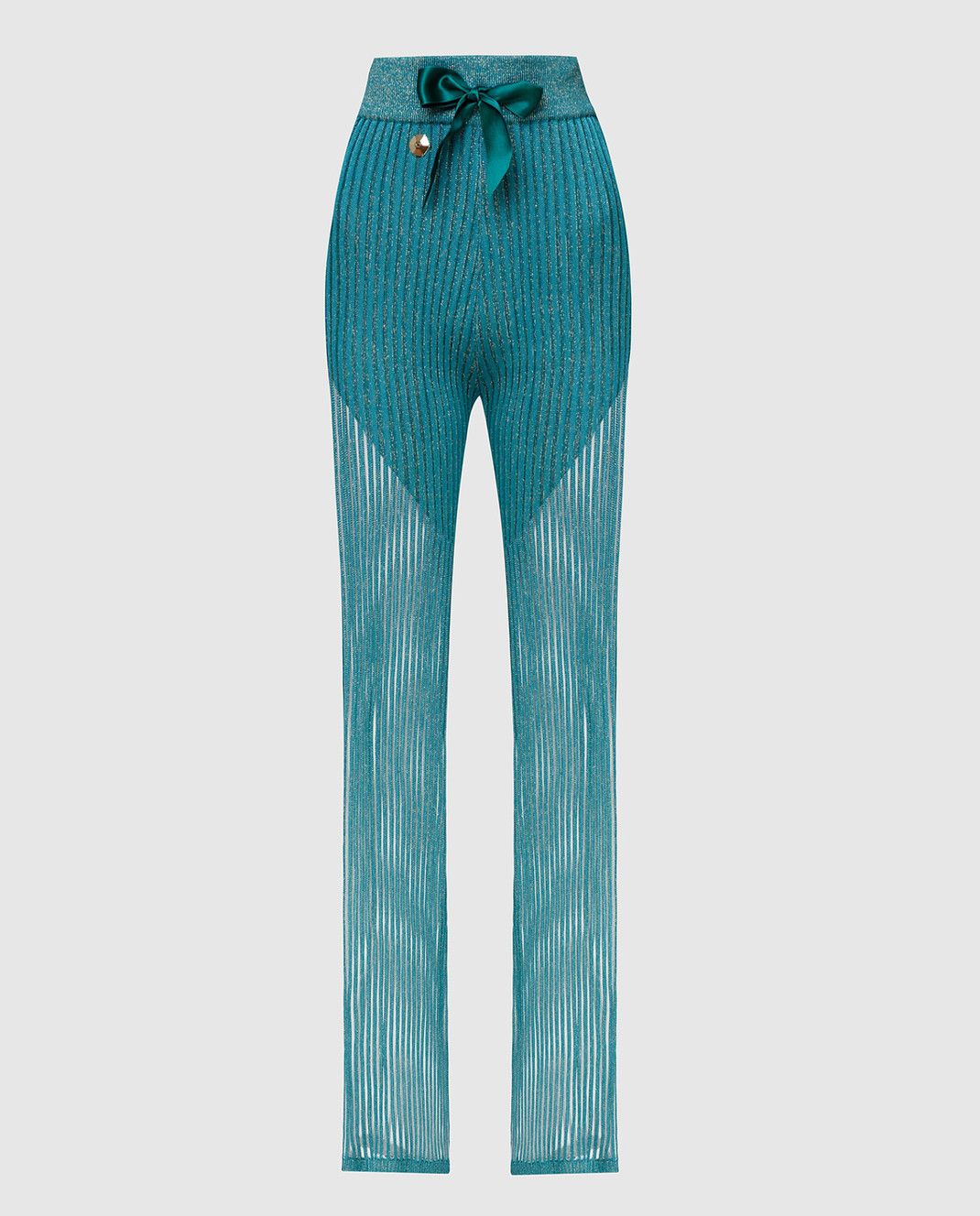 Philipp Plein Бирюзовые брюки WRT0466