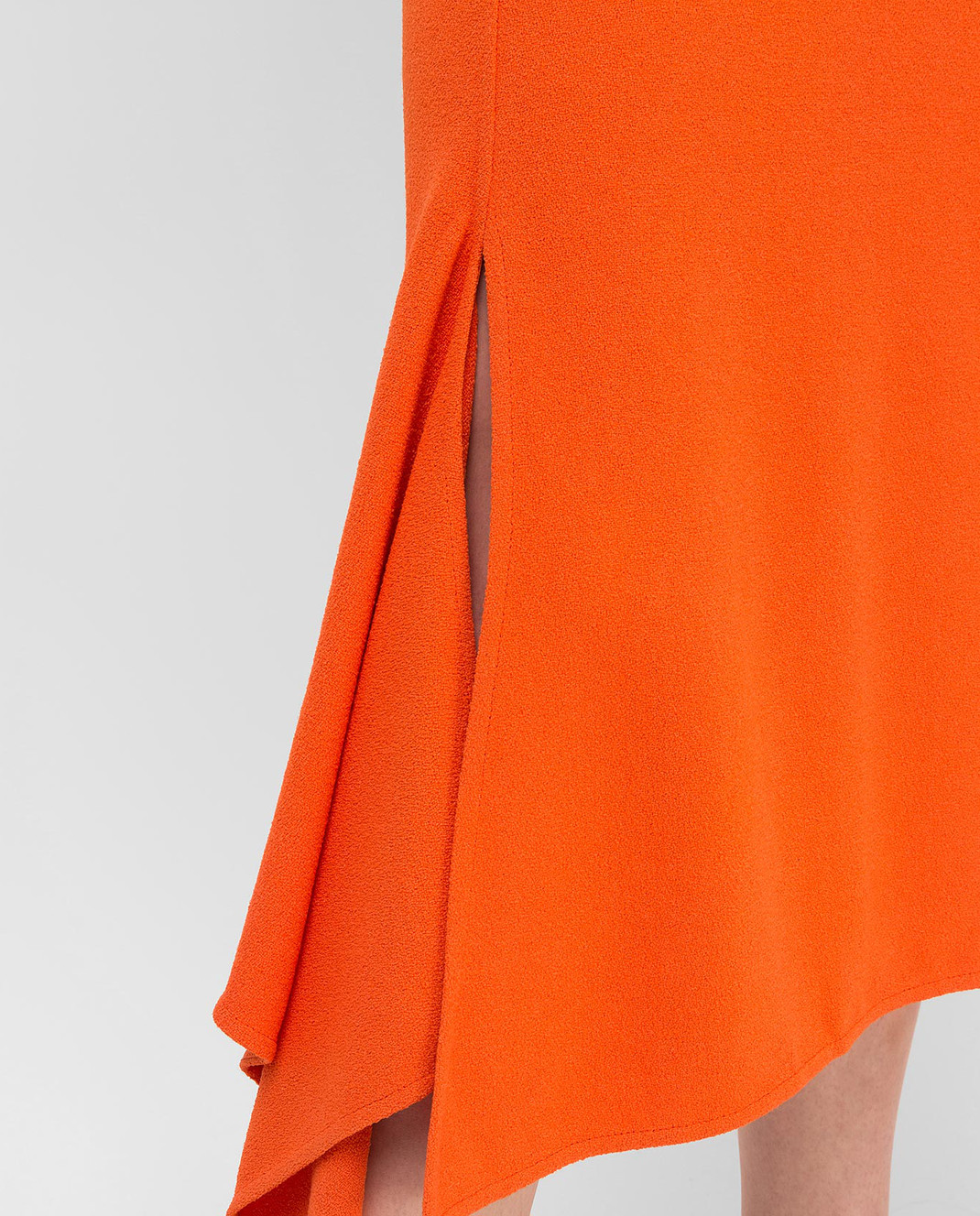 Victoria Beckham Оранжевая юбка SKMID3315 изображение 5