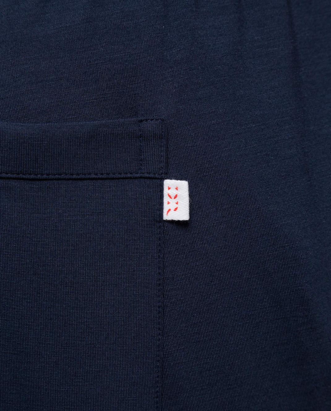 Derek Rose Темно-синие брюки изображение 5