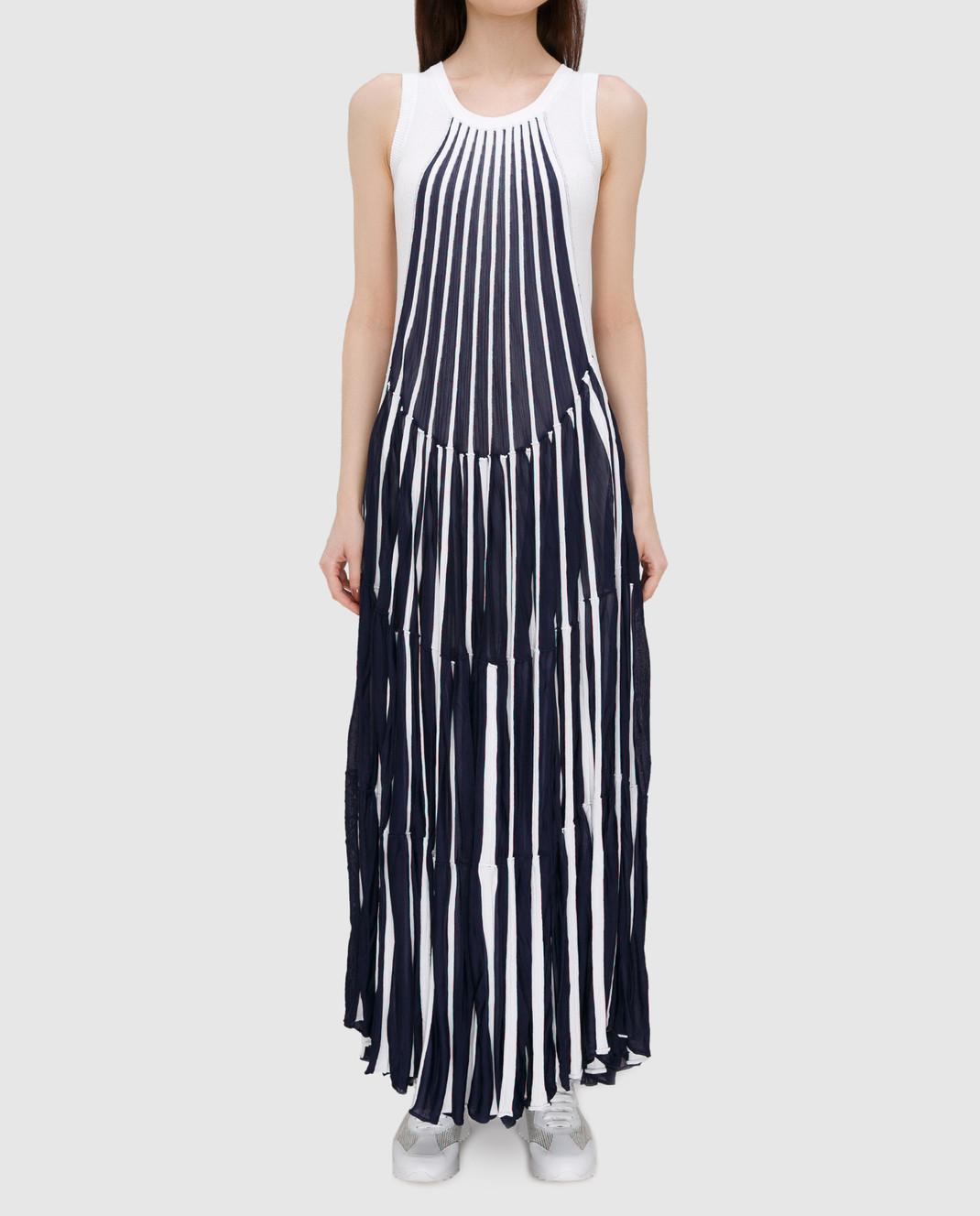 Chloe Синее платье изображение 3