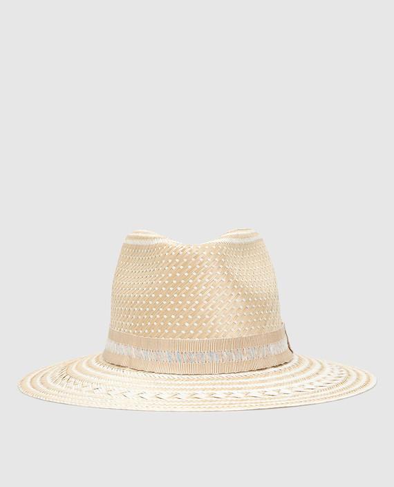 """Соломенная шляпа """"Alba"""""""