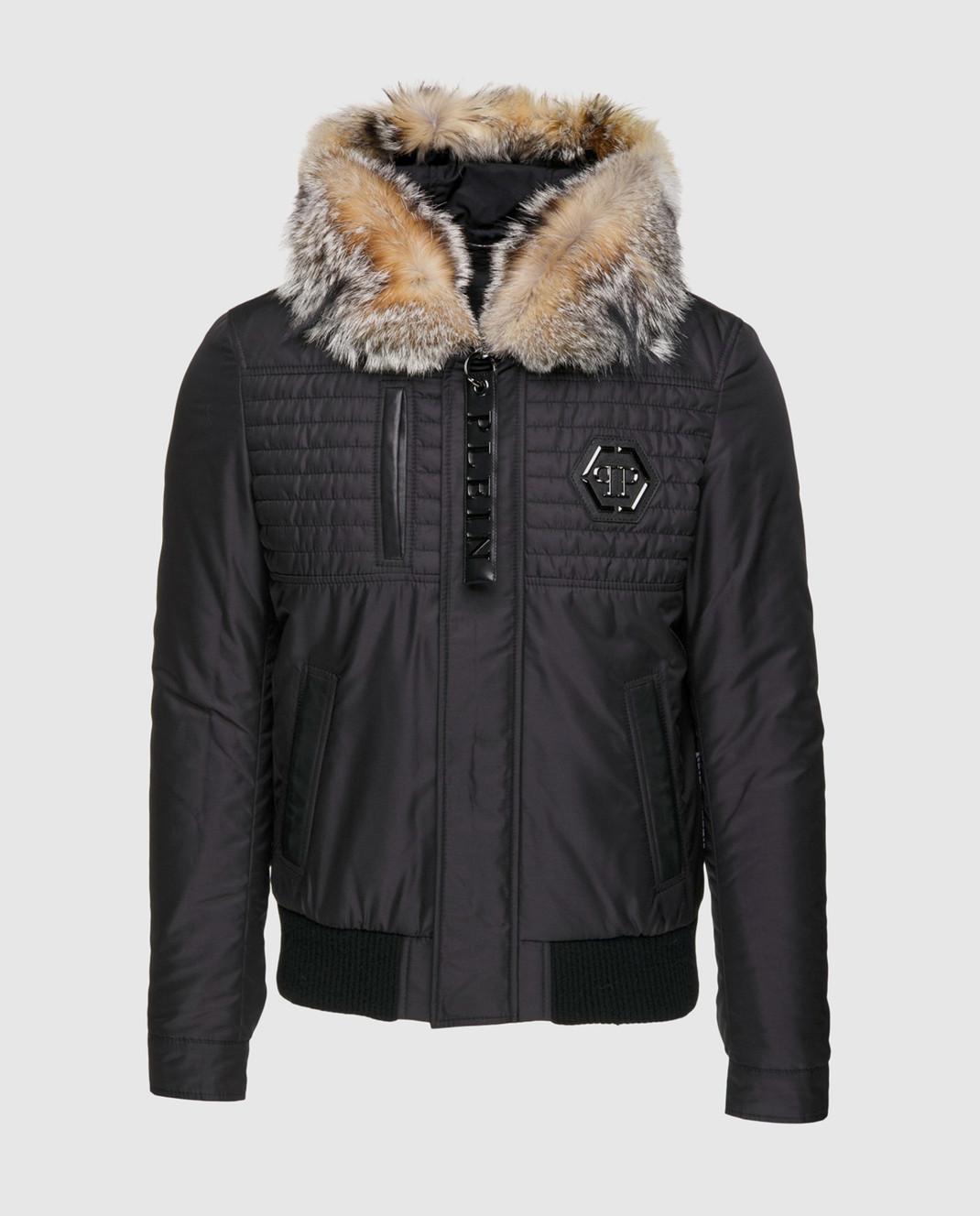 Philipp Plein Черная куртка MRB0340
