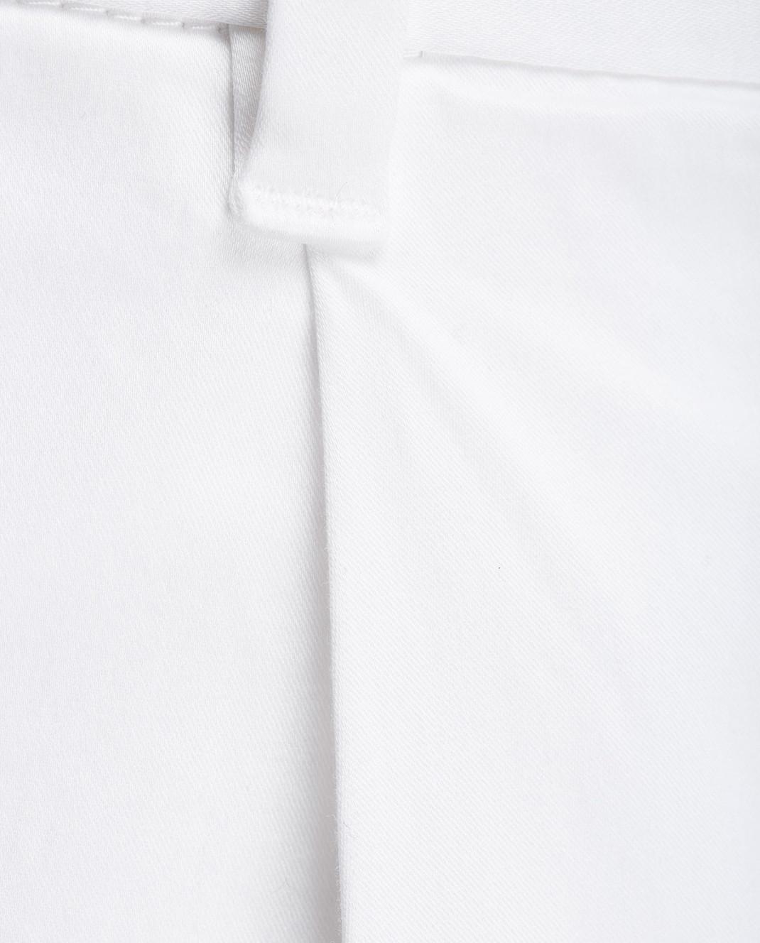 Eleventy Белые кюлоты 980PA0066 изображение 5