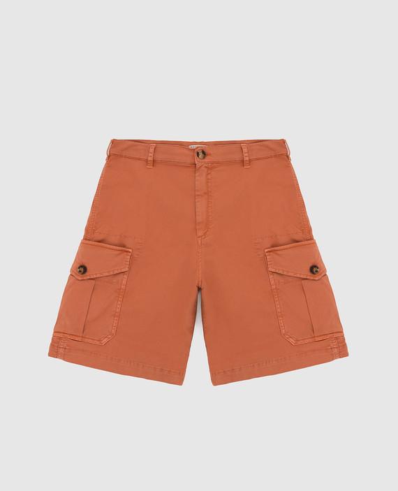 Детские оранжевые шорты