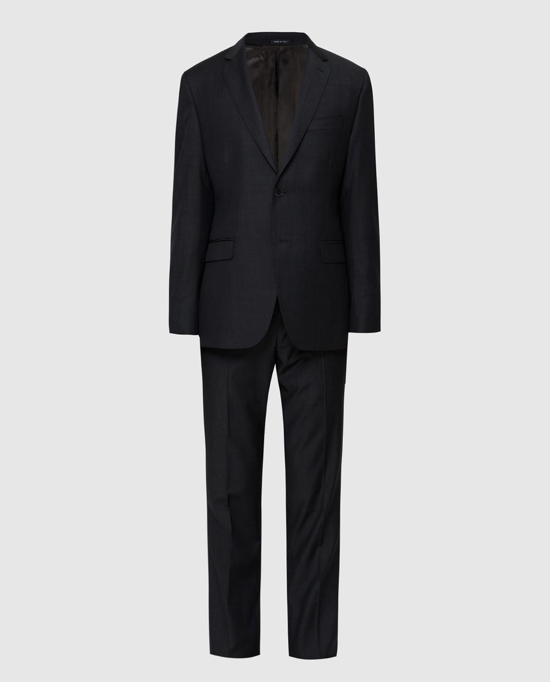 Fradi Тёмно-синий костюм 192AJ7025944