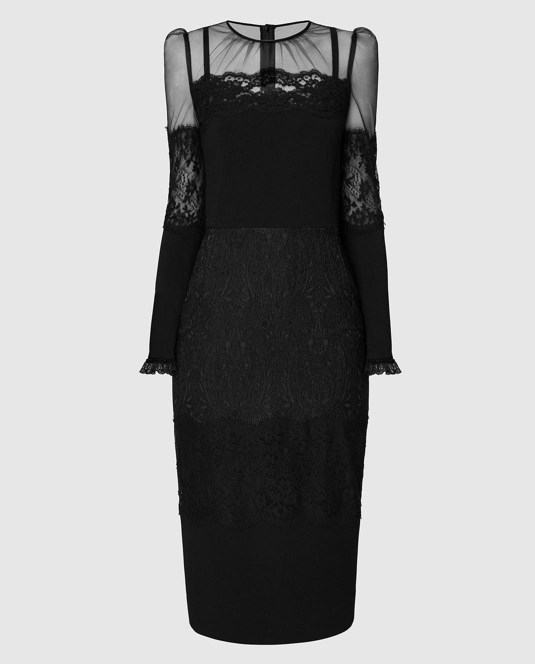 Dolce&Gabbana Черное платье изображение 1