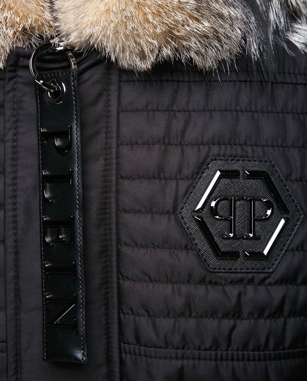 Philipp Plein Черная куртка MRB0340 изображение 5
