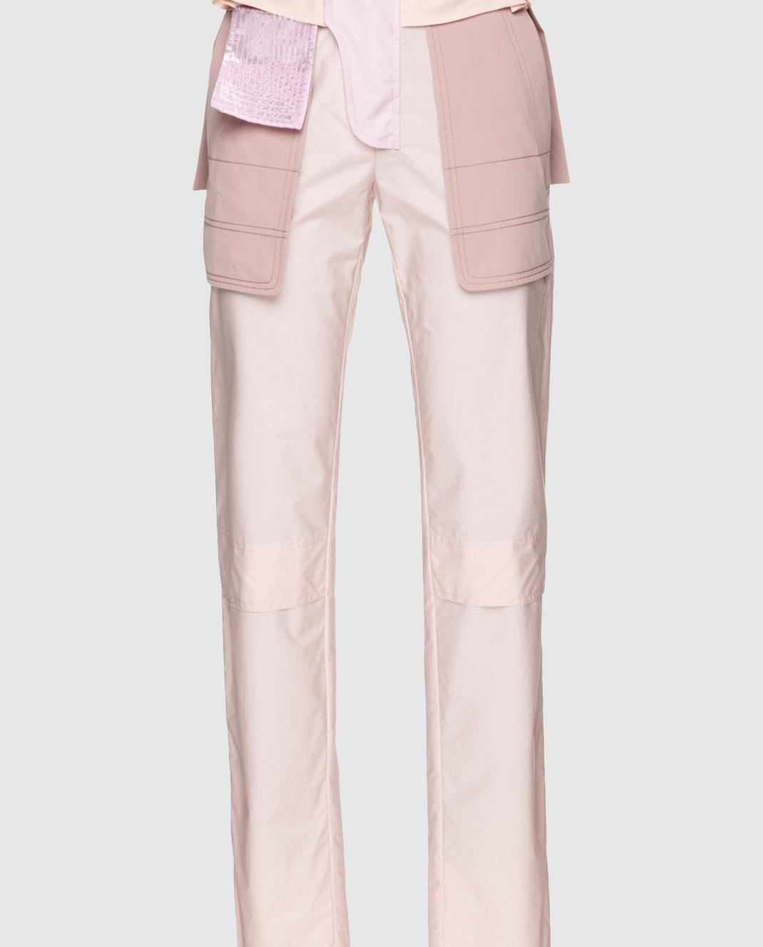 Valentino Бежевые брюки PBARB2853VG изображение 3