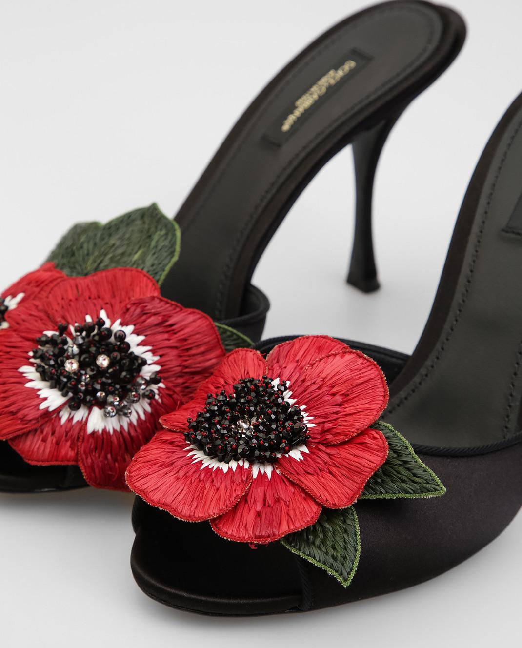 Dolce&Gabbana Черные босоножки