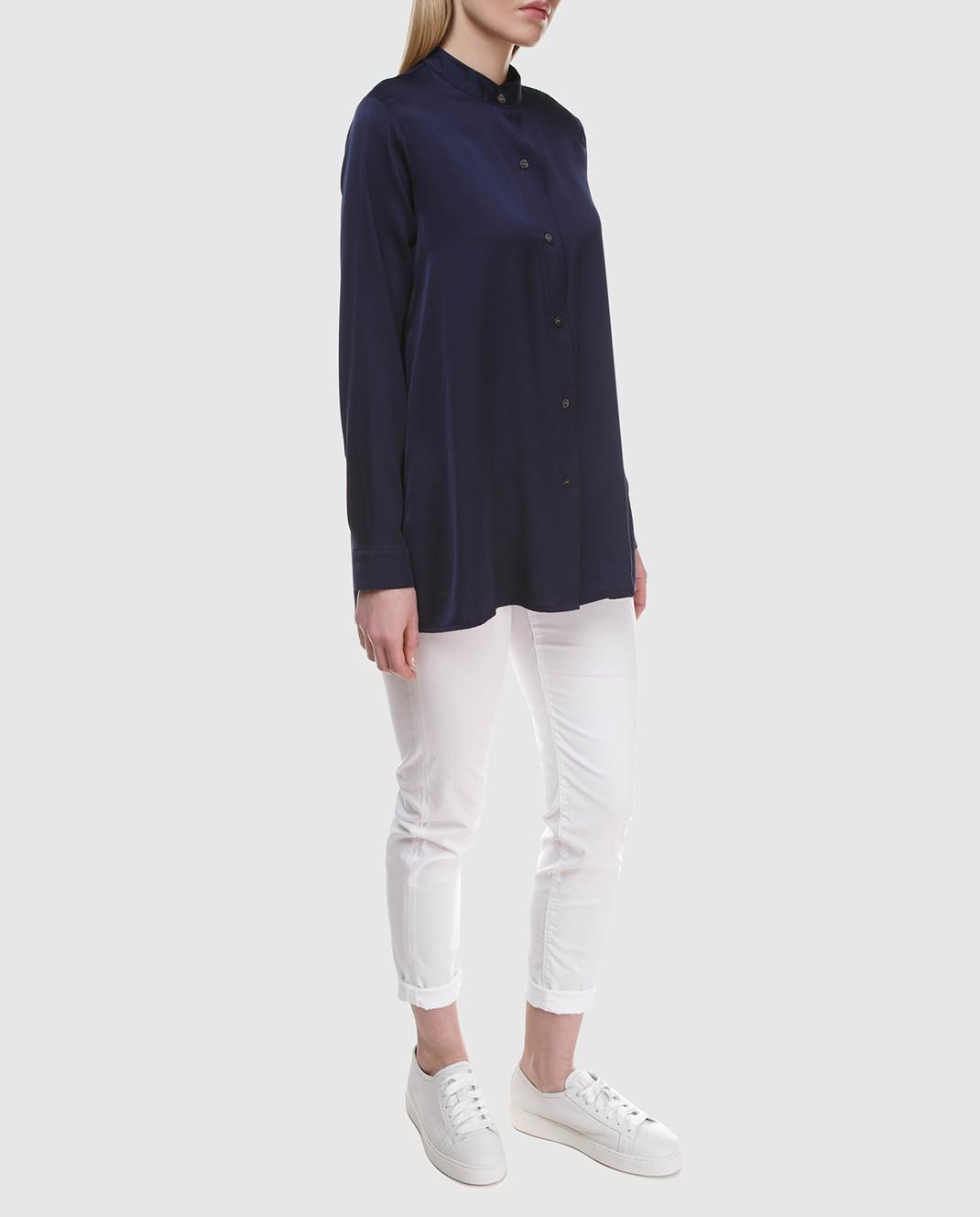 Allude Синяя блуза 18283003 изображение 2