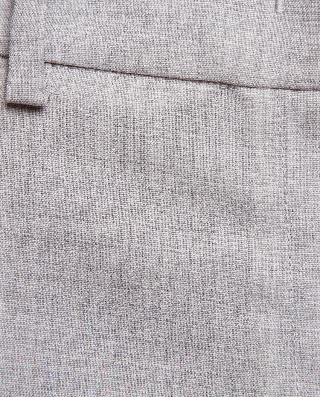 Fabiana Filippi Серые брюки из шерсти PG70118 изображение 5